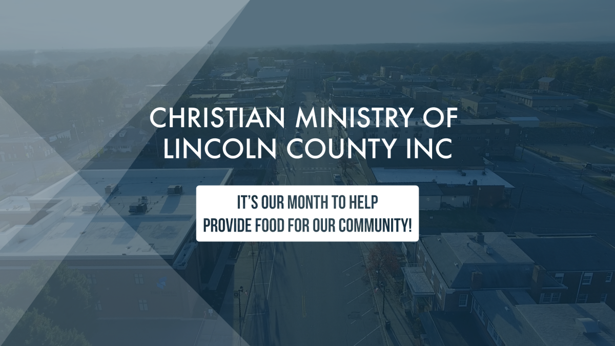 Christian Ministries Food Drive of October